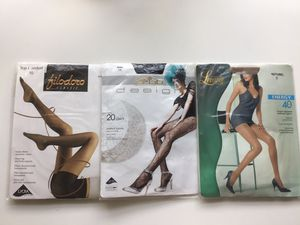 Italy! 3 pairs of Italian brands tights for Sale in Bellevue, WA