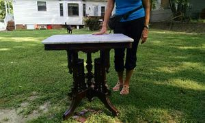 Antique Marble Table for Sale in Sanford, NC