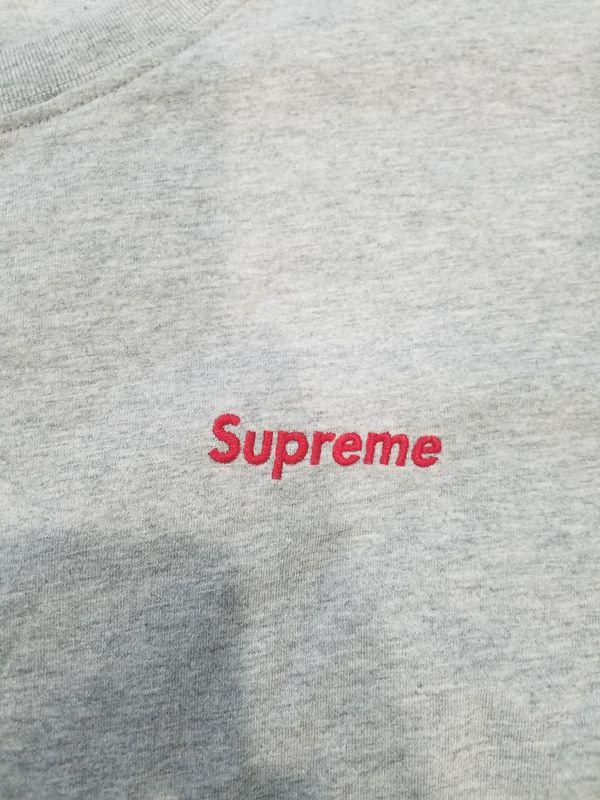 Grey Supreme tshirt