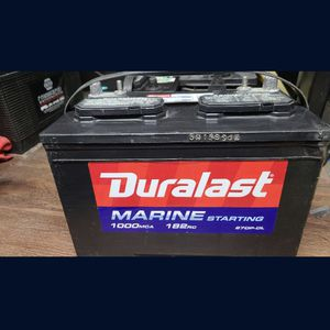Duralast Marine Starting Battery Group 27 for Sale in Jurupa Valley, CA