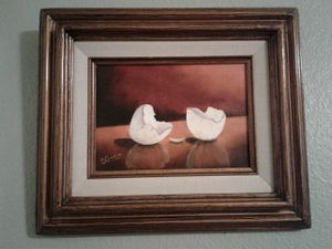 Two VINTAGE EGG WALL ART for Sale in Manteca, CA