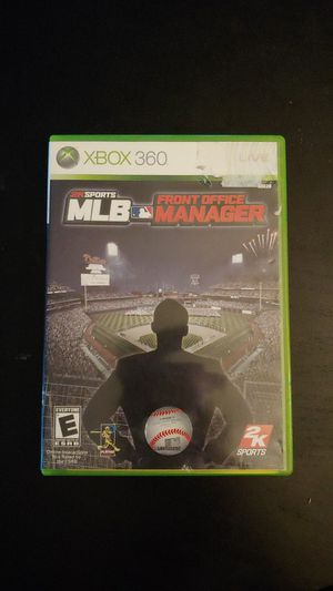XBOX 360 2K Sports MLB Front Office Manager Complete Working for Sale in Tacoma, WA