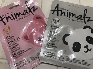 Face mask pretty animalz new any 2 for $3 for Sale in San Jacinto, CA