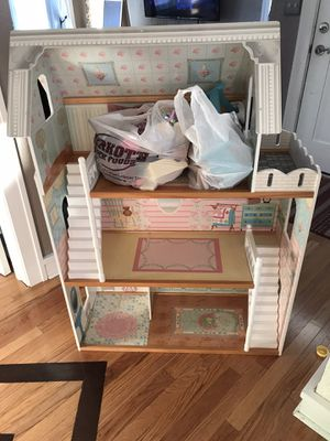 Doll house with furniture for Sale in Mokena, IL