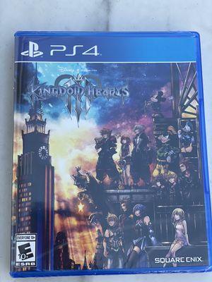 Brand new Kingdom Hearts 3 (PS4) for Sale in Miramar, FL
