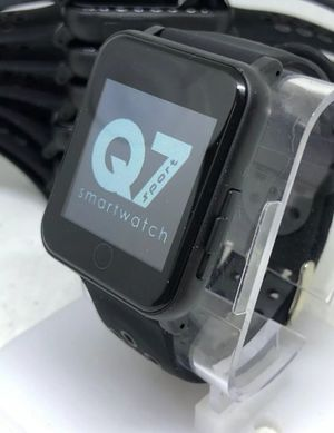 🔥Brand New Black Q7 Smart Watch Open Box for iPhone and Android 💲 for Sale in Davenport, FL