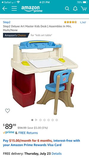 Step one kids desk for Sale in Pico Rivera, CA