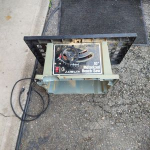 """Delta 10"""" Bench Saw for Sale in Mount Vernon, WA"""
