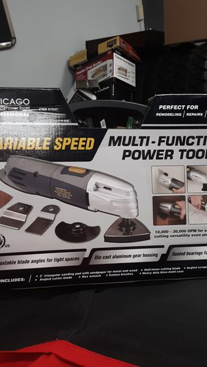 Chicago Electric Variable Speed Multifunction Power Tool item 67537 for Sale in Seattle, WA