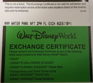 Disney water park annual passes for Sale in Tampa, FL