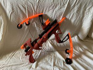 2005 NERF Big Bad Bow Dark Red Foam Arrow Blaster Gun for Sale in Nashville, TN