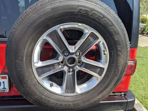 5 jeep wheels and tires for Sale in Dana Point, CA