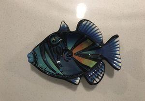 Fish ceramic bowl decor / home decor / fish lovers for Sale in Puyallup, WA