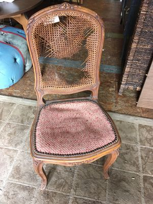 Antique french chair needs redo for Sale in San Diego, CA