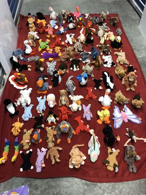 Beanie baby collection 100 of them for Sale in Miami, FL
