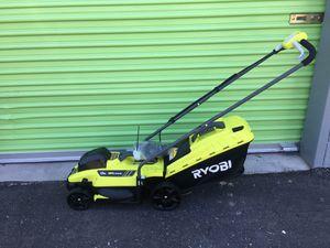 "Ryobi 18v 13"" Lawn Mower for Sale in North Las Vegas, NV"
