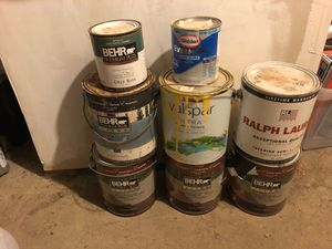 Free Paint, assorted colors and quantity for Sale in Washington, DC