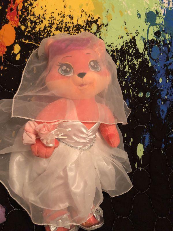 Build A Bear Workshop Wedding Bear & Accessories
