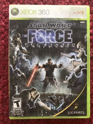 Star Wars The Force Unleashed Xbox 360 Game for Sale in Mt. Juliet, TN