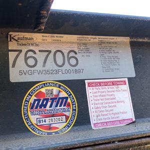 Kaufman Trailer for Sale in Hayward, CA