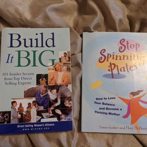 Two Books, Stop Spinning Plates and Build It Big for Sale in Windham, NH
