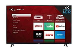 TCL 50S425 50 inch 4K Smart LED Roku TV (2019) for Sale in Seattle, WA