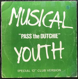 Musical Youth - Pass The Dutchie - (12-inch Vinyl Record) Single for Sale in Corona, CA