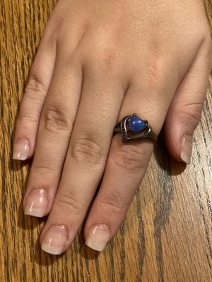 Vintage Heart Shape Fire Opal Ring,Sz 8 for Sale in Gilroy, CA