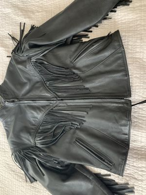 Leather Harley Davidson jacket for Sale in Acworth, GA