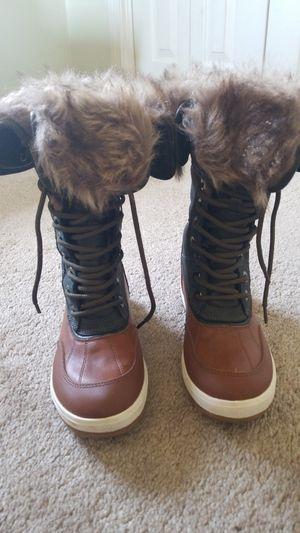 ALDO Green Suede Fur-Lined Boots Women' for Sale in Dracut, MA