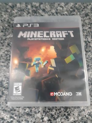PlayStation 3 PS3 Minecraft for Sale in Brookfield, IL