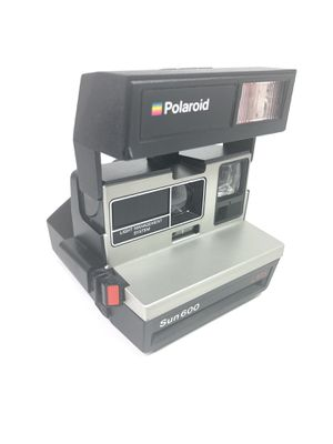 Vintage Polaroid Sun 600 LMS Instant Film Flash Camera Untested READ DESCRIPTION for Sale in Milford, CT