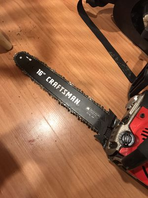 "16"" Craftsman chainsaw $100 obo for Sale in Egg Harbor City, NJ"