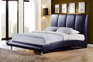 Premium Luxury Platform Bed Frame black/White for Sale in Columbia, PA