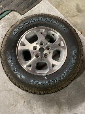 Jeep grand Cherokee wheel and tire for Sale in Richmond, VA