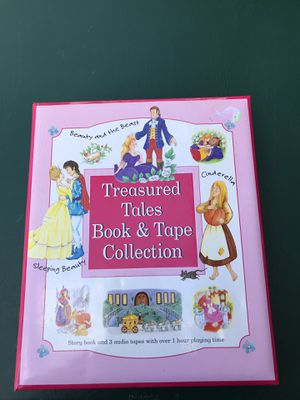 Treasured Tales book/tape collection for Sale in Oshkosh, WI