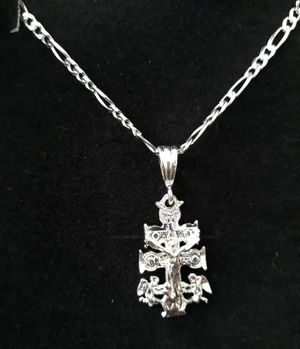 925 sterling silver Holy Trinity Necklace for Sale in Los Angeles, CA