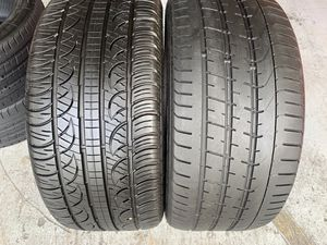 Two tires 275/40/20 Pirelli Tires with 60-90% left for Sale in Miami, FL