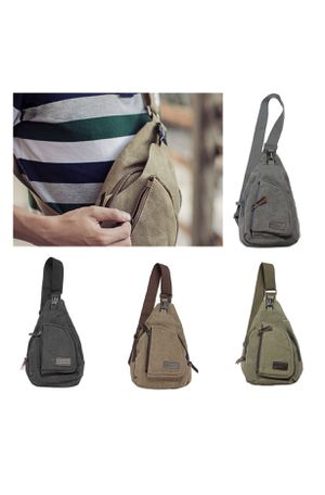Brand New! Men/Women Canvas Sling Bag for Sale in Westminster, CA