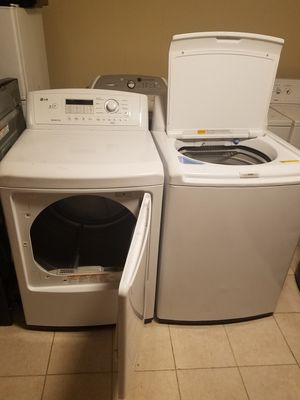 Lg washer and dryer for Sale in Woodbridge, VA