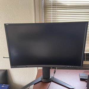Lenovo 27 inch Curve Black and Red Gaming Monitor for Sale in Queens, NY