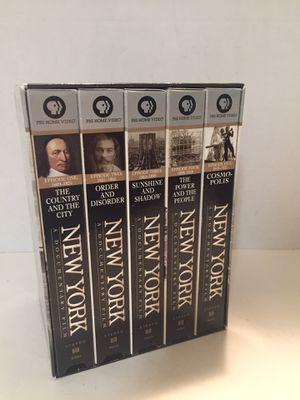 Ken Burns PBS New York Video Series for Sale in Seattle, WA