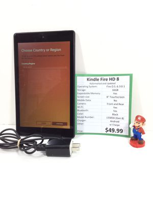 Amazon Kindle Fire HD 8 Table with Charger for Sale in Kent, WA