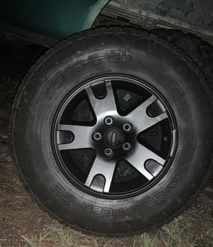Fx4 F150 Rims and tires 5x135 for Sale in Naples, FL