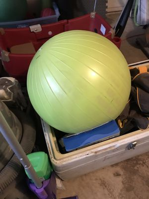 Exercise ball for Sale in Bedford, TX