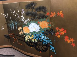 Japanese wall art panel for Sale in Poway, CA