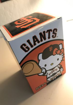 Limited edition Hello Kitty SF Giants bobble head for Sale in Talent, OR