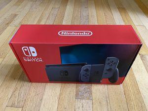 Brand NEW Nintendo - Switch (V2) 32GB Console - Gray Joy-Con Model:HADSKAAA for Sale in Charlotte, NC
