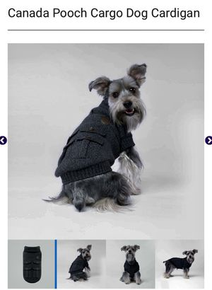 Canada Pooch Cargo Dog Cardigan XS Extra-Small for Sale in San Diego, CA