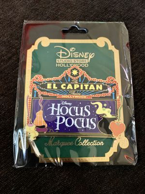 Disney's DSF DSSH Hocus Pocus Surprise Marquee Pin Release Limited Edition 300 for Sale in Los Angeles, CA